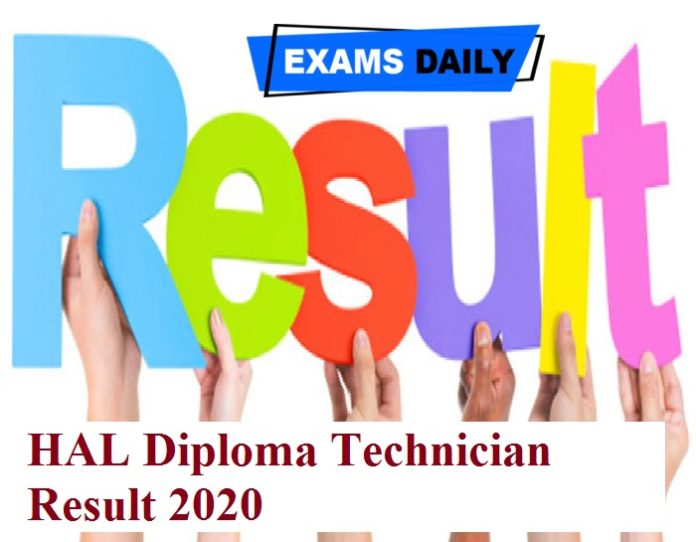 HAL Diploma Technician Result 2020 Out – Download DV Date Here!!!