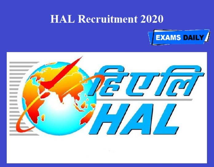 HAL Recruitment 2020 OUT – Just Now Released!!!