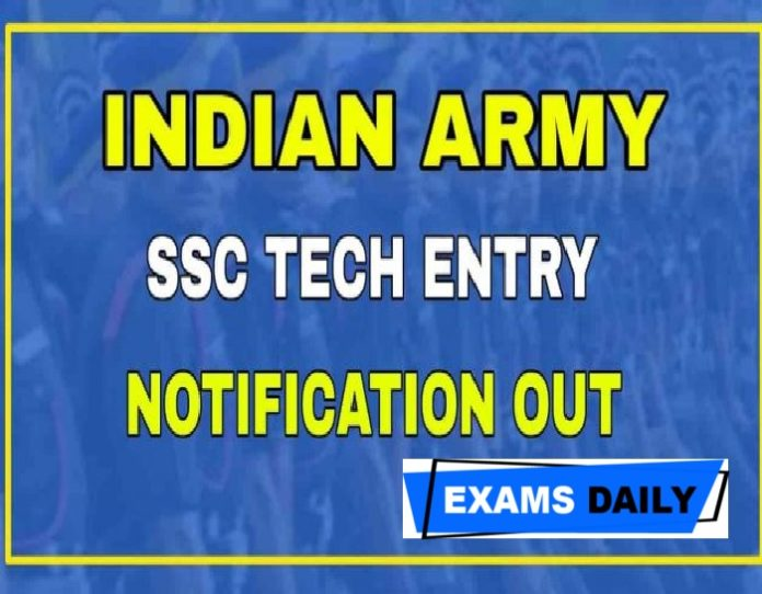 Indian Army SSC Tech 56 and SSC Tech 27 Notification 2020