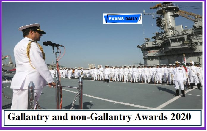 Indian Navy Gallantry and non-Gallantry Awards presented on Naval Investiture Ceremony – Winners List