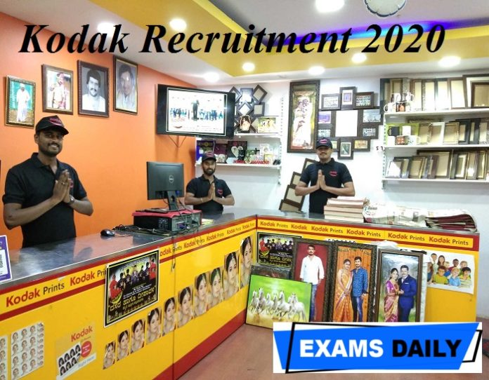 Kodak Recruitment 2020 Out – Apply Online for Warehouse Supervisor Here!!!