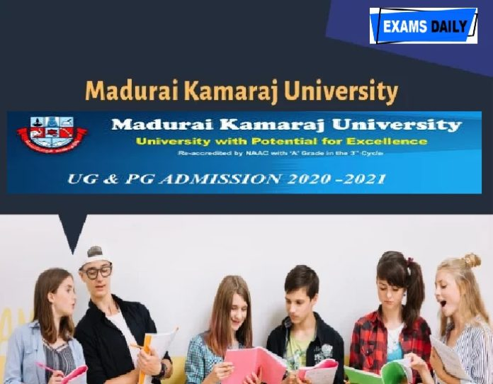 MK University Admission Notification 2020 Out – Apply Online for PG & UG Course Here!!!!