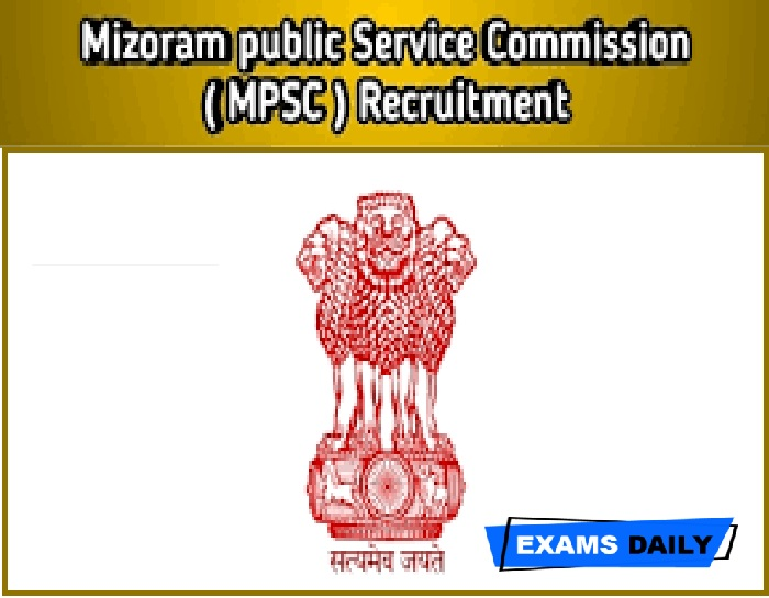 Mizoram PSC Recruitment 2020 Out – Apply for Asst. Director Fisheries Posts Here!!!