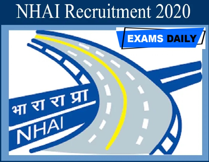 NHAI Recruitment 2020 Out – Apply for Site Engineer Posts Here!!!!