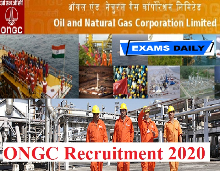 ONGC Recruitment 2020 Out – Apply for Retired Revenue Official & Others Here!!!!