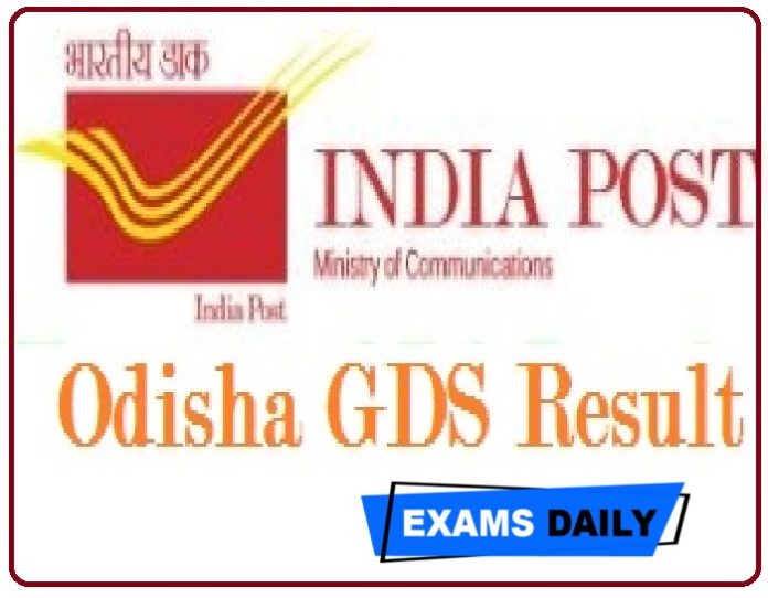 Odisha Postal GDS Result 2020 – Check Gramin Dak Sevak Cut Off & Merit List Here!!!!