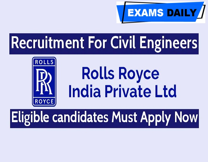 Rolls Royce Recruitment 2020 Out – Apply Online for Data Engineer Posts Here!!!
