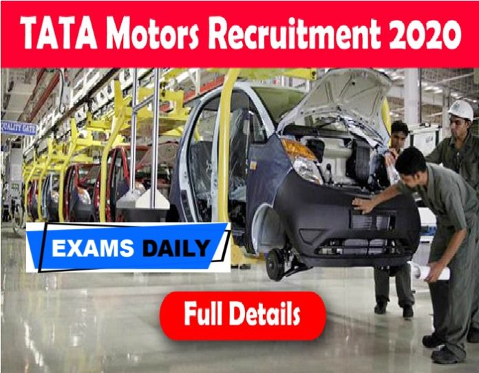 TATA Motors Recruitment 2020 Out – Apply Online for Fire Officer Vacancies Here!!!