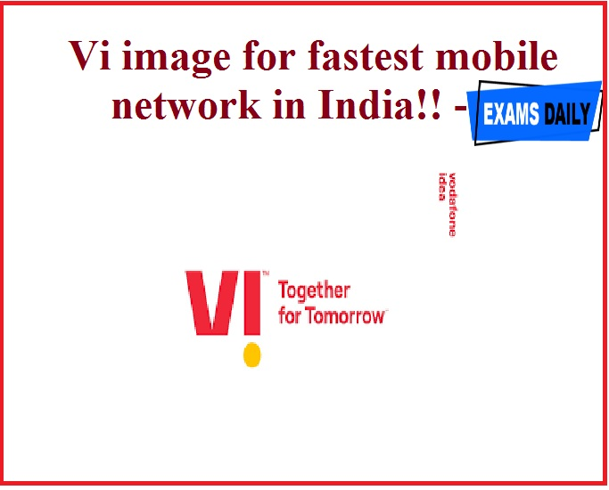 Vi image for fastest mobile network in India!!- Overtakes JIO!!!!!