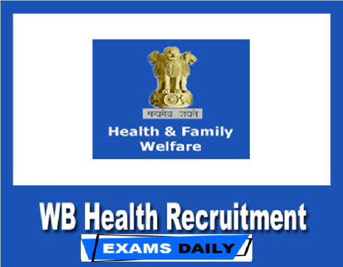 WB Health Recruitment 2020 Out – Apply for Medical Technologist & Others Here!!!