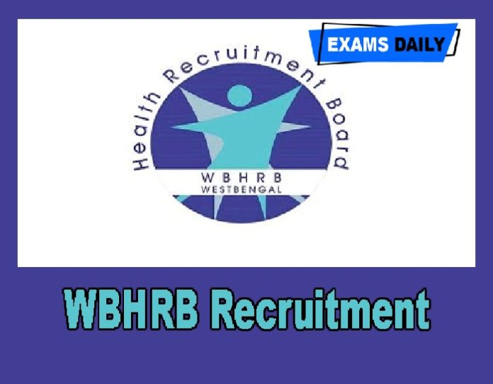 WBHRB Recruitment 2020 Out – Apply Online for 891 TutorDemonstrator Posts Here!!!