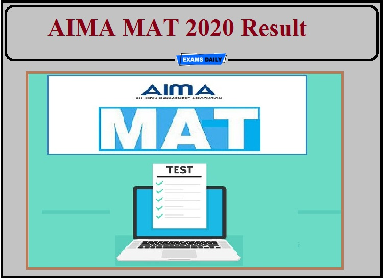AIMA MAT 2020 Result Released- Direct Link Available!!!