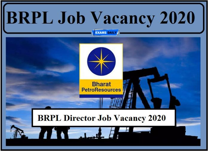 BRPL Job Vacancy 2020 Out- Apply for Director Post!!!