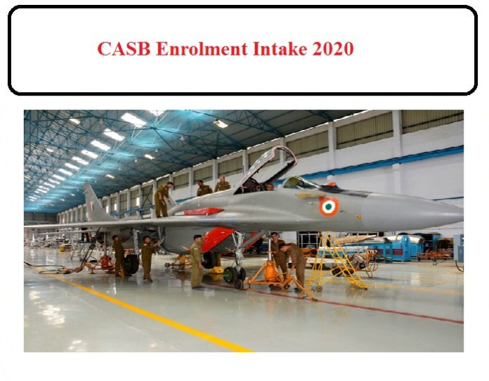 CASB Enrolment Intake Notification 2020