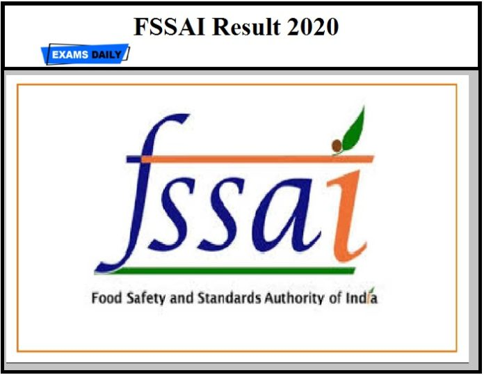 FSSAI Assistant Director Result 2020 OUT – Download Provisional List for Deputy Manager & Administrative Officer Posts