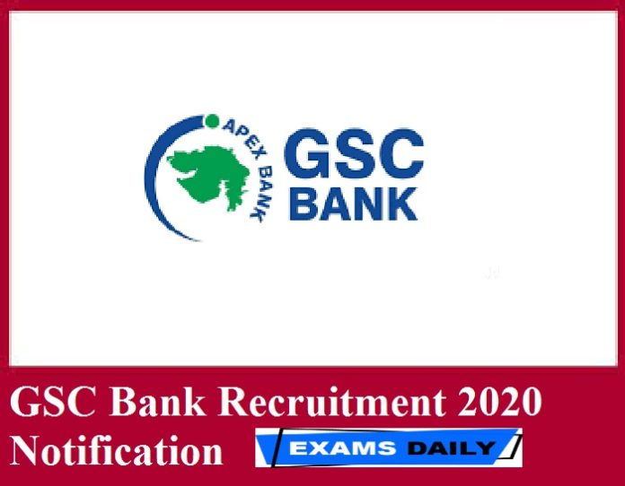 GSC Bank Recruitment 2020 Notification Out – Apply for 90 Technical Assistant & Others Here!!!