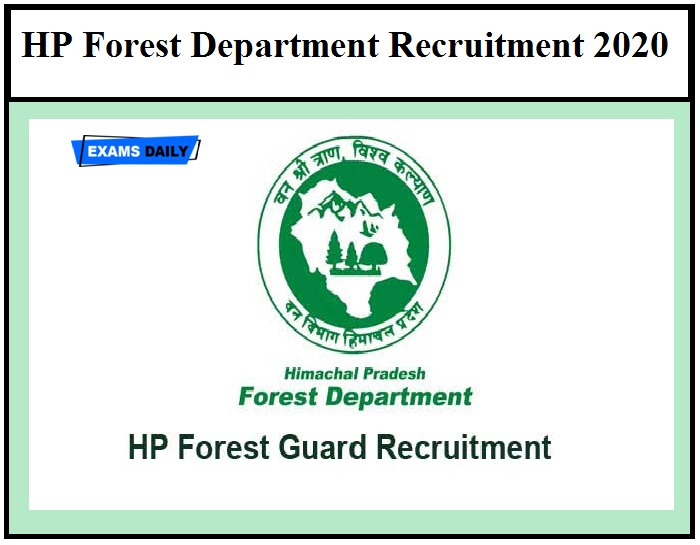 HP Forest Department Recruitment 2020 – Last Date Extended to Apply for Zoo Biologist Vacancies