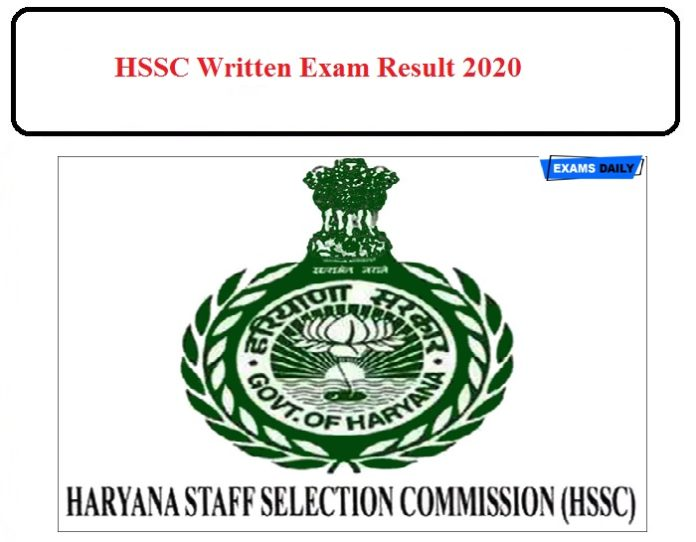 HSSC Junior Accountant and Junior System Engineer Result 2020