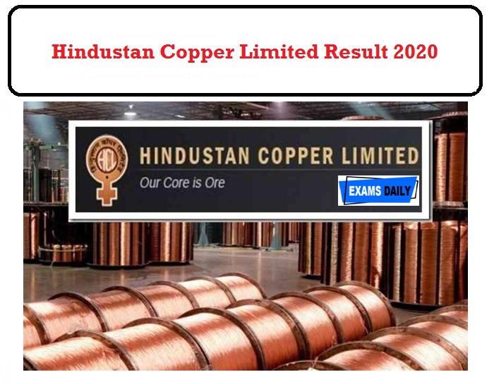 Hindustan Copper limited Results 2020