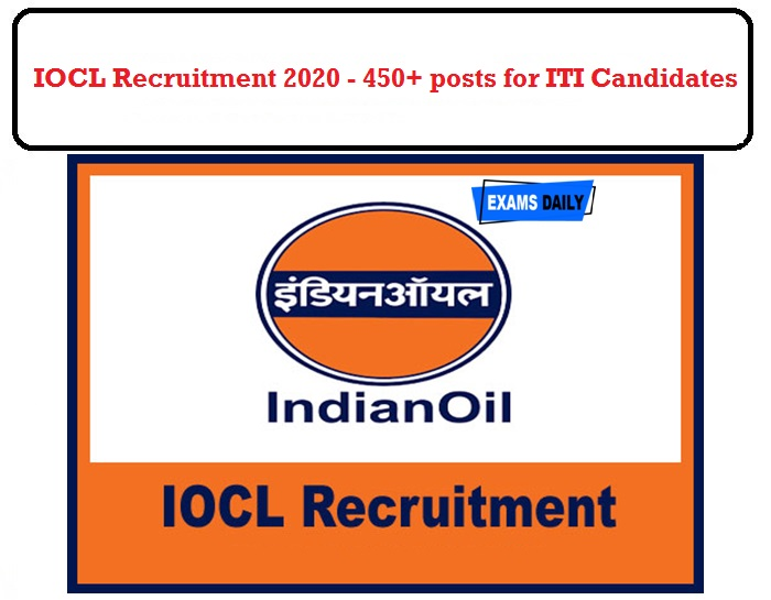 IOCL Recruitment 2020 OUT