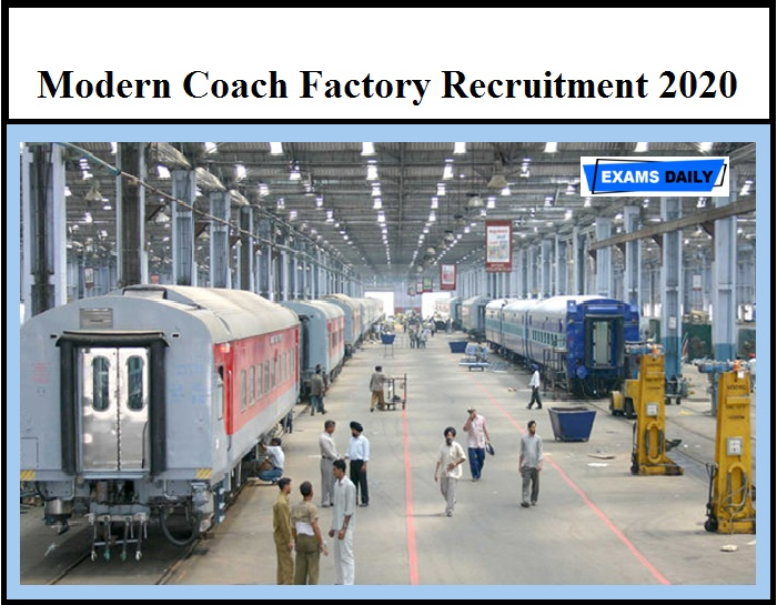 MCF Recruitment 2020 OUT – 100+ Apprentice Vacancies 10th Pass can apply