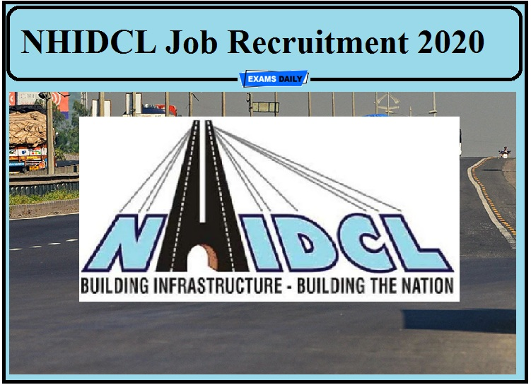 NHIDCL Job Recruitment 2020 Released- Apply for 81 Vacancies!!!