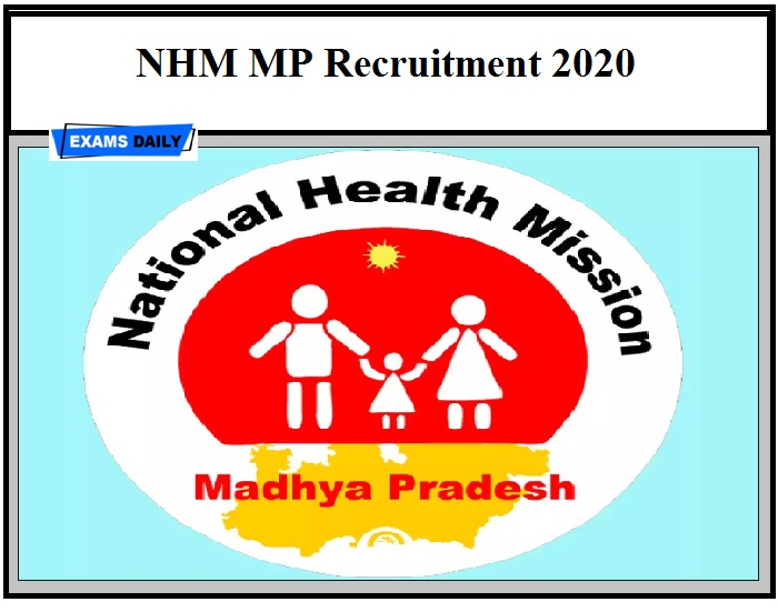 NHM MP Recruitment 2020 OUT – Apply Online Download Notification Here
