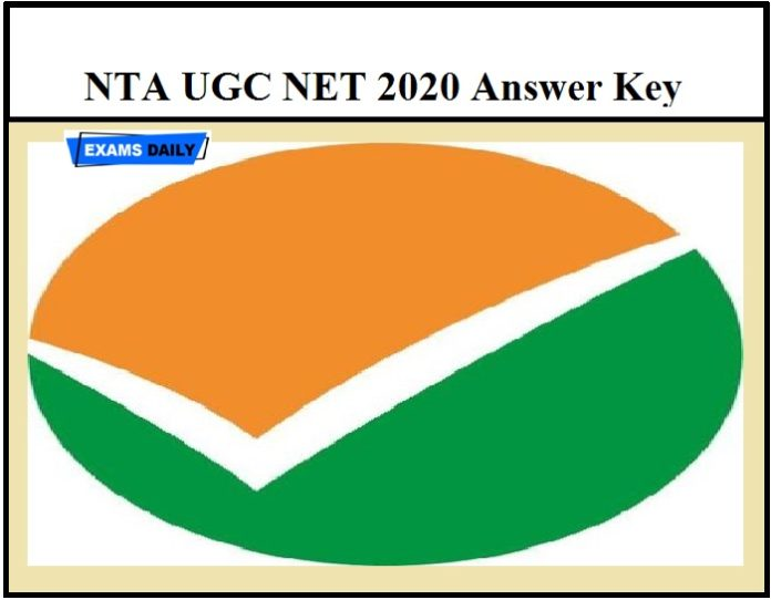 NTA UGC NET 2020 Answer Key Released – Check Objection Details Know how to check @ ugcnet.nta.nic.in
