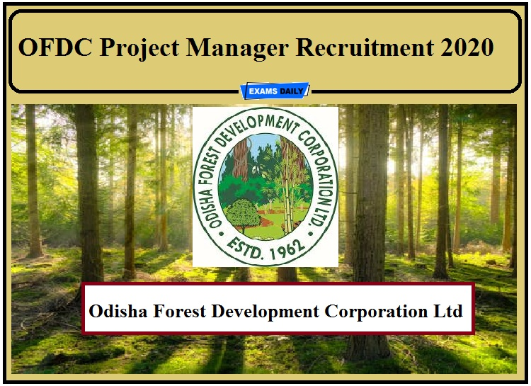OFDC Recruitment 2020 Out- Apply for Project Manager!!!