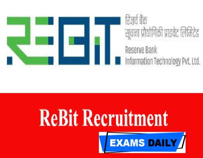 ReBIT Recruitment 2020 Apply Online – Download Notification For Technology Analyst-Drupal Posts
