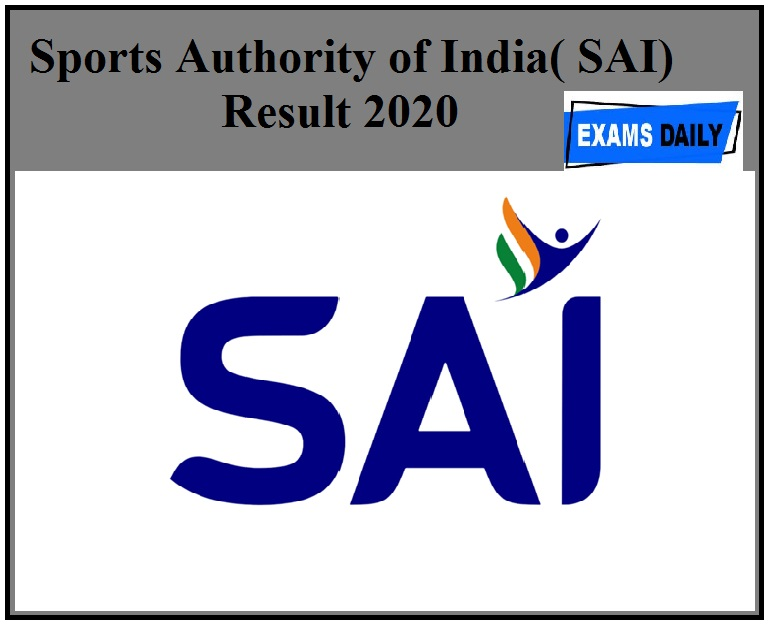 SAI Result 2020 Released For Strength & Conditioning Expert