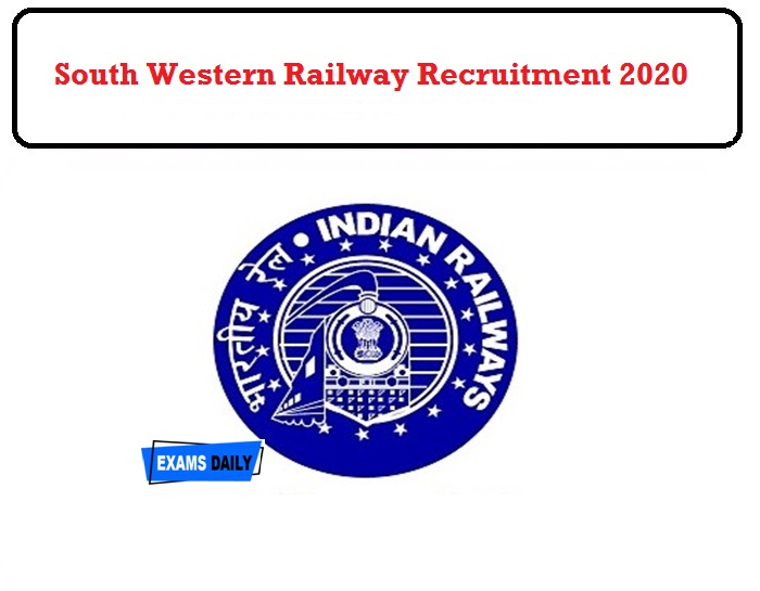 South Western Railway Recruitment 2020 OUT