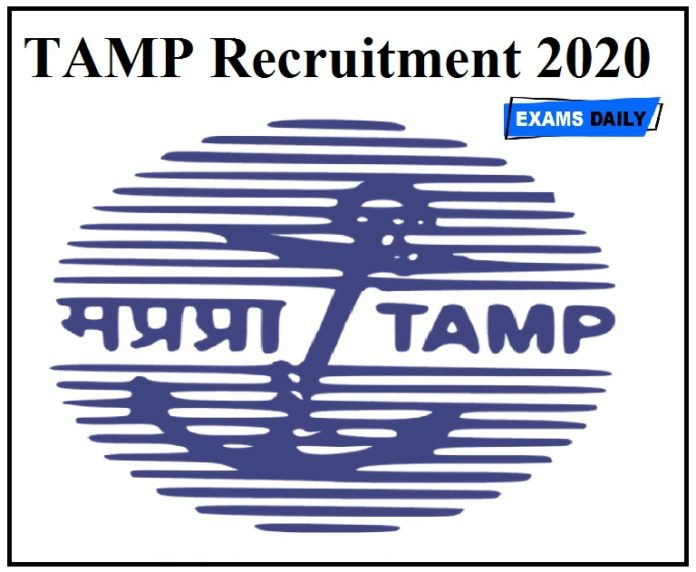 Tamp Recruitment 2020 Apply for Administrative Officer & Stenographer Posts @ tariffauthority.gov.in