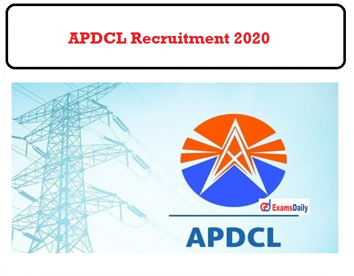 APDCL Recruitment 2020 OUT