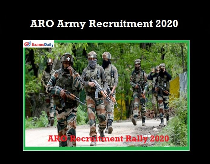 ARO Army Recruitment Rally 2020 OUT