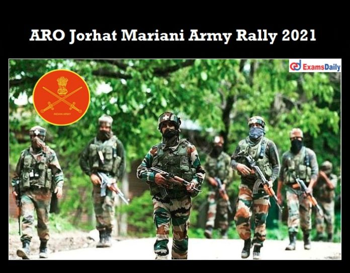 ARO jorhat Army Recruitment Rally 2020 OUT