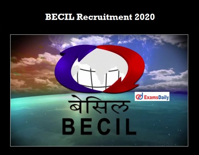 BECIL Recruitment 2020 OUT