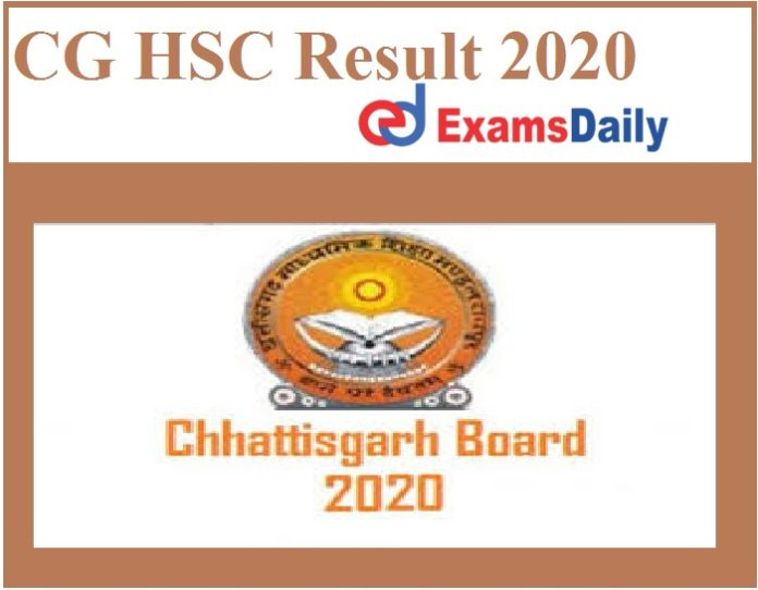 CG HSC Result 2020 Out – Download CGBSE 12th Merit List Here!!!