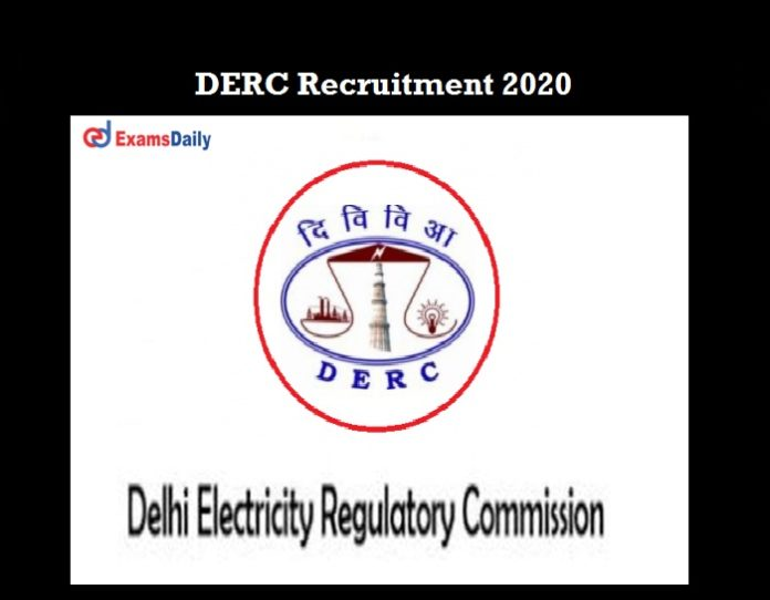 DERC Recruitment 2020 OUT