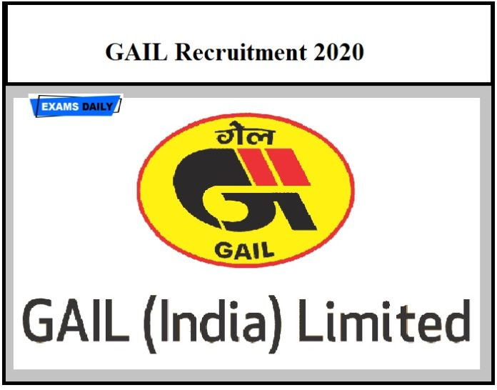 GAIL Recruitment 2020 OUT – Download Application Form Here!!!