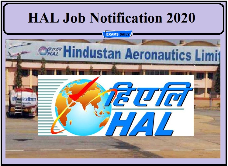 HAL Job Notification 2020 Released – Apply for Visiting Consultant!!!