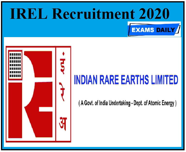 IREL Recruitment 2020 Out – Apply For Apprentice Vacancies