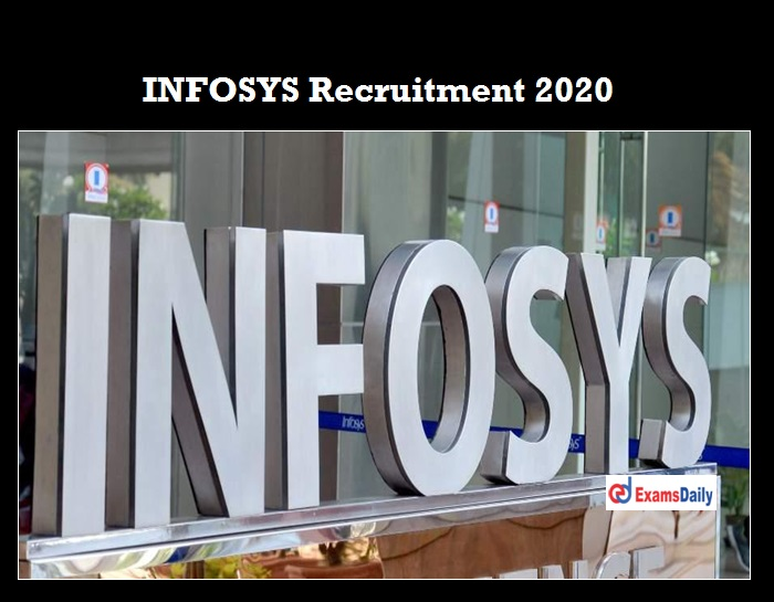 Infosys Careers 2020 OUT