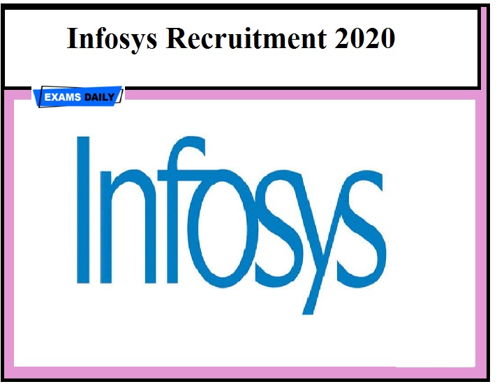 Infosys Vacancies 2020 OUT – Engineering Graduates can apply!!!