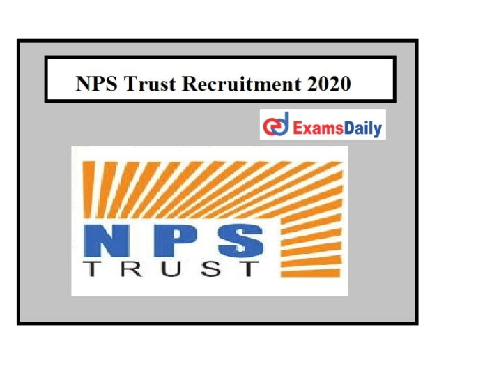 NPS Trust Recruitment 2020