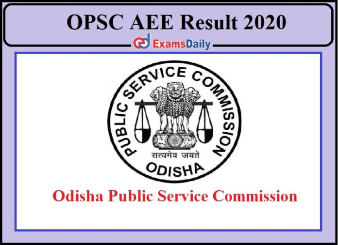 OPSC AEE Result 2020 Released- Download Marks of VV Test and Written Exam!!!