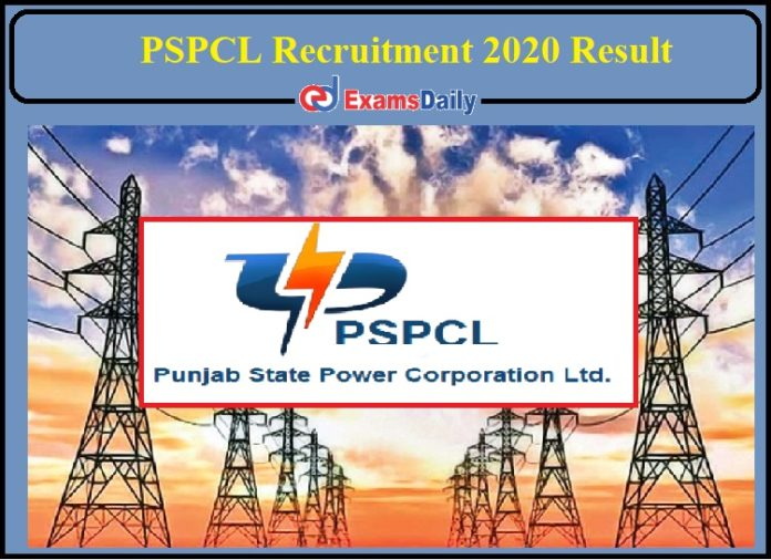 PSPCL Recruitment 2020 Result Released- Check for AM IT!!!