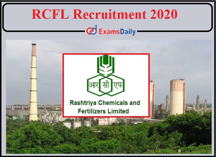 RCFL Recruitment 2020 Notification Released- Apply for Director Post!!!