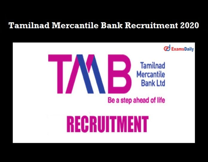 TMB Recruitment 2021 OUT
