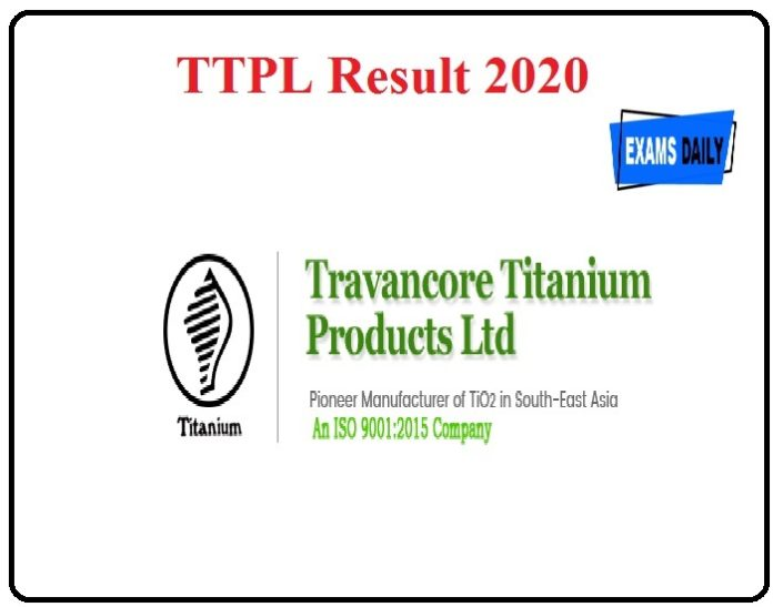 TTPL Result 2020 Released Download Trainee Rank List Now!!!